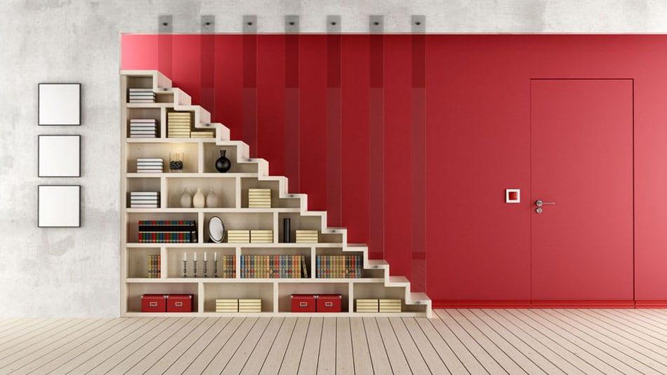 relooker un escalier en rangement