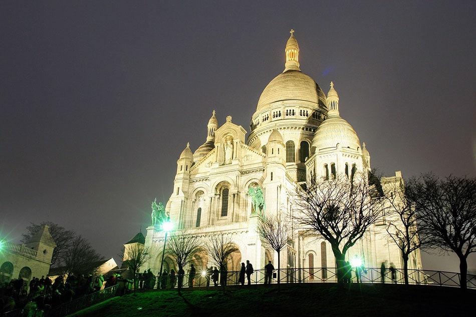 Sacré-coeur et quartie de Montmartre