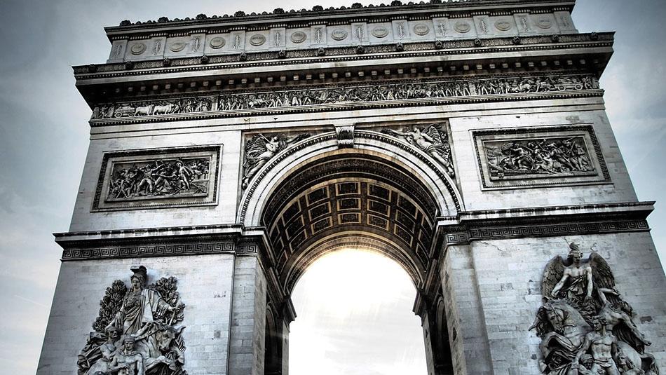 Visite Paris - Arc de Triomphe de l'Etoile