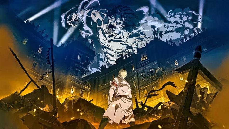 Attack on titan - animé japonais