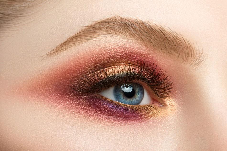 maquillage yeux, tendances